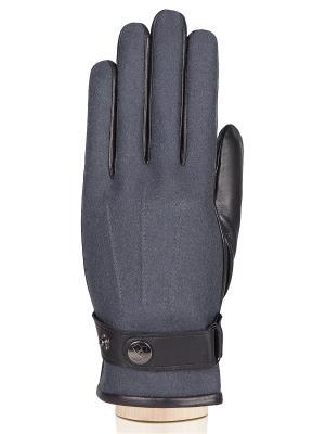 Перчатки Eleganzza. Цвет: темно-серый, черный