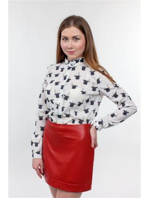 Блузка Falinda. Цвет: белый