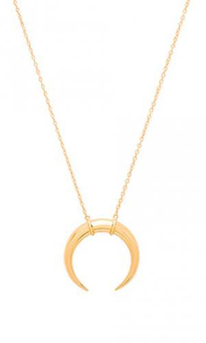 Ожерелье cayne gorjana. Цвет: металлический золотой