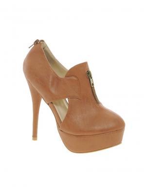 Sugarfree Shoes Туфли с вырезами. Цвет: коричневый