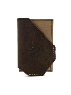 Чехол для кредитных карт Pellecon. Цвет: коричневый