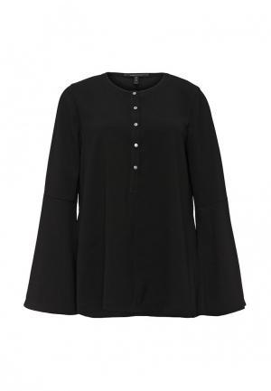 Блуза BCBGMAXAZRIA. Цвет: черный