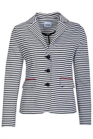 Пиджак в полоску moschino cheap&chic. Цвет: полоска