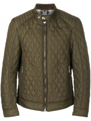Стеганая куртка Belstaff. Цвет: зелёный