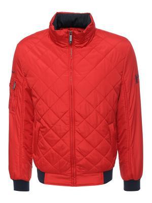 Куртка Finn Flare. Цвет: малиновый