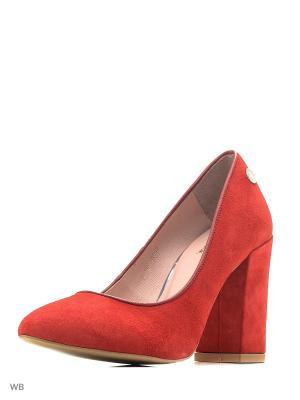 Туфли Gretchen. Цвет: темно-красный, красный