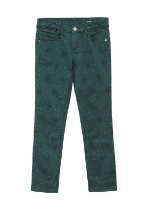 Брюки United Colors of Benetton. Цвет: зеленый