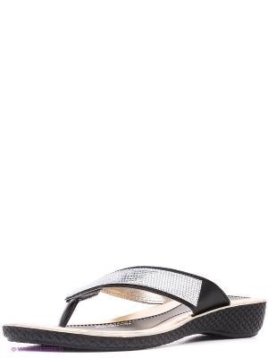 Пантолеты MUYA. Цвет: черный, серебристый