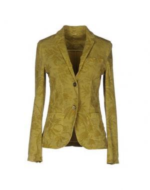 Пиджак CIRCOLO 1901. Цвет: кислотно-зеленый
