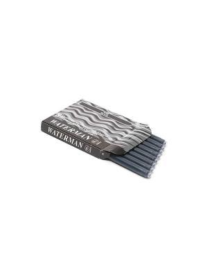 Картридж с чернилами для перьевой ручки LONG Waterman. Цвет: черный