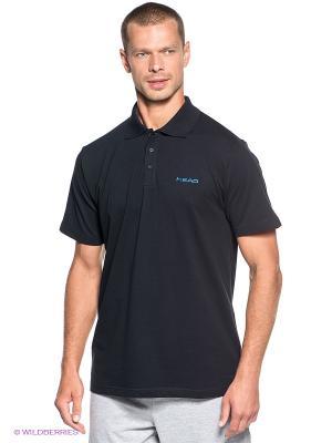 Футболка-поло Club Men Bjorn Poloshirt Button HEAD. Цвет: черный