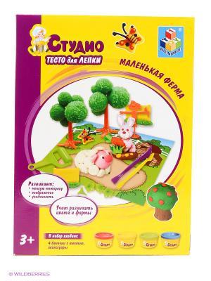 Игровой набор Маленькая ферма 1Toy. Цвет: желтый