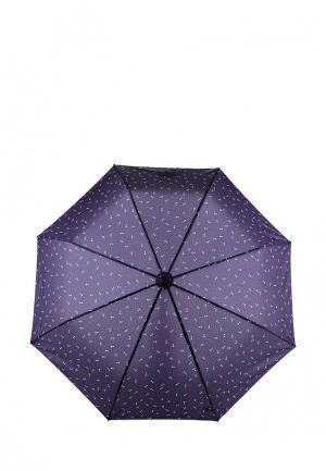 Зонт складной Kawaii Factory. Цвет: синий