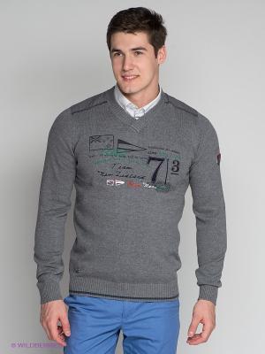 Пуловер M Trevor Pullover Northland Professional. Цвет: серый меланж