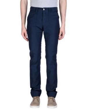 Повседневные брюки FRIEDRICH GRAHAM. Цвет: синий