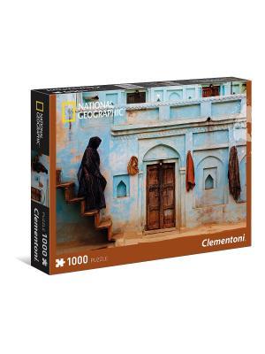 Clementoni. National Geographic. Женщина у входа в хавели (n). Clementoni. Цвет: коричневый, белый, черный