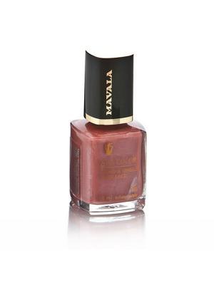 Лак для ногтей профессиональный Agate Mavala. Цвет: коричневый