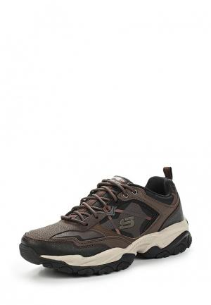 Ботинки трекинговые Skechers. Цвет: коричневый
