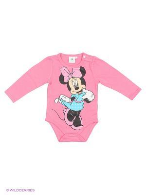 Боди Minnie Mouse. Цвет: розовый