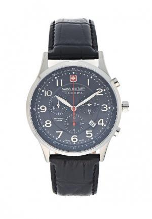 Часы Swiss Military. Цвет: черный
