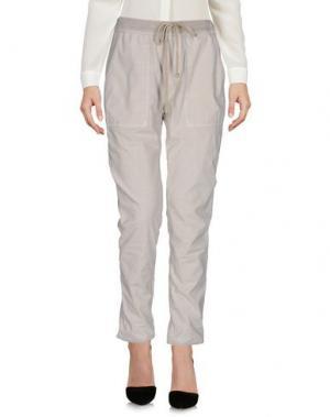 Повседневные брюки JAMES PERSE STANDARD. Цвет: светло-серый