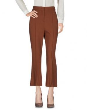 Повседневные брюки GOTHAINPRIMIS. Цвет: коричневый