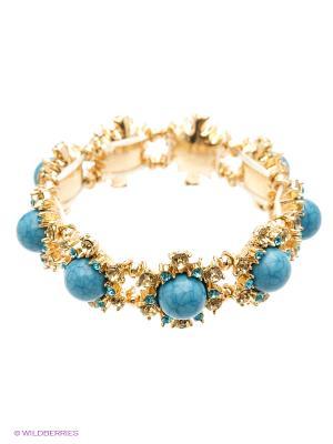 Браслет AtStyle247. Цвет: голубой, темно-синий, серо-голубой