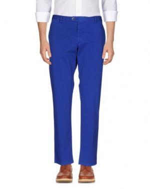 Повседневные брюки PANAMA. Цвет: ярко-синий
