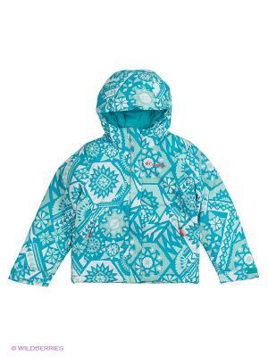 Куртки Columbia. Цвет: голубой