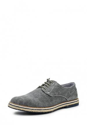 Туфли Tony-p. Цвет: серый