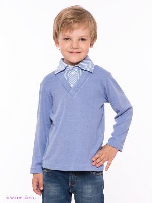 Пуловер Gioia di Mamma. Цвет: голубой