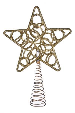 Верхушка на елку DUE ESSE CHRISTMAS. Цвет: золотой