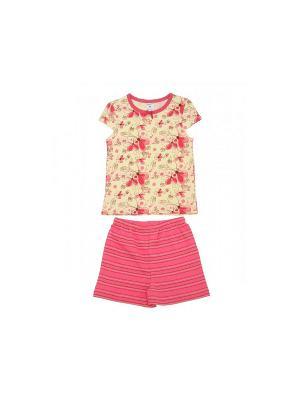 Пижама Модамини. Цвет: розовый, коричневый