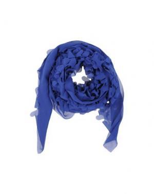 Палантин MARIA CALDERARA. Цвет: синий