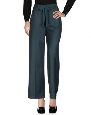 Повседневные брюки PAOLO CASALINI. Цвет: темно-зеленый