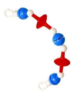 Подвеска для кроватки или коляски Аэлита.. Цвет: синий, белый, красный