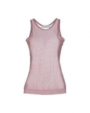 Топ без рукавов KRISTINA TI. Цвет: пастельно-розовый