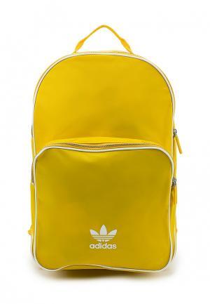 Рюкзак adidas Originals. Цвет: желтый