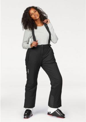 Лыжные брюки POLARINO. Цвет: черный