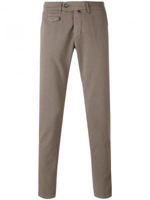Flap pocket trousers Re-Hash. Цвет: серый