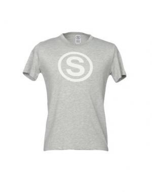 Футболка SOHO. Цвет: серый