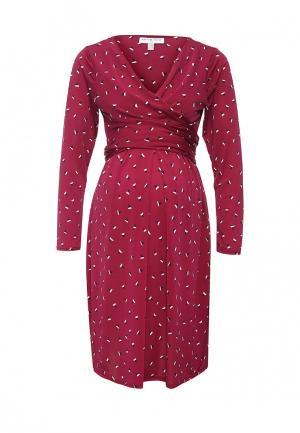 Платье Envie de Fraise. Цвет: бордовый