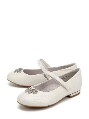 Туфли Антилопа. Цвет: белый