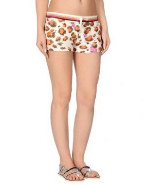 Пляжные брюки и шорты BLUMARINE BEACHWEAR. Цвет: бежевый