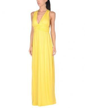 Пляжное платье DELFINA. Цвет: желтый