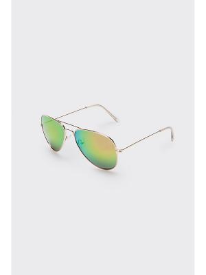 Очки солнцезащитные Concept Club. Цвет: зеленый, коричневый