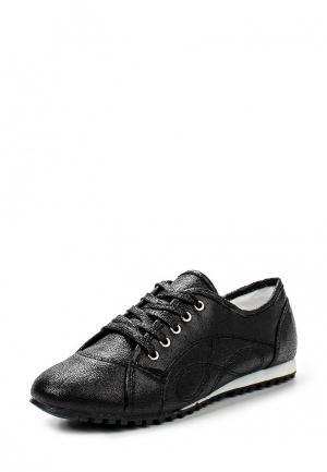Кроссовки Exquily. Цвет: черный