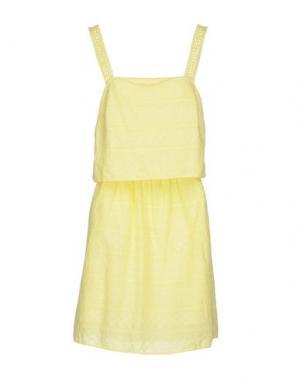 Платье до колена SOUVENIR. Цвет: желтый