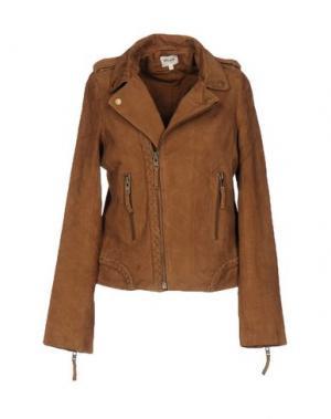 Куртка BELAIR. Цвет: коричневый