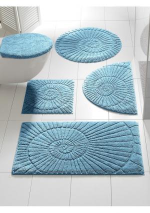 Комплект для ванной Heine Home. Цвет: бежевый, бирюзовый, зеленый, коричневый, серый, синий, темно-серый